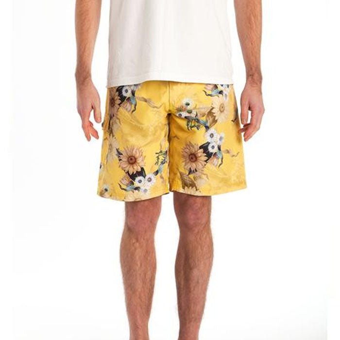 RIZ BOARDSHORTS BRAUNTON SHORT IN WAVE SUNSHINE