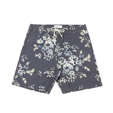 Saint James Men's Sebastien Shorts in Navy