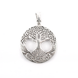 Pendants - Yggdrasil Amulet, Silver - Grimfrost.com