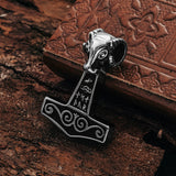 Thor's Hammers - Grimfrost's Goat Hammer, Stainless Steel - Grimfrost.com