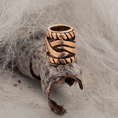 Beard Rings - Beard/Hair Bead, Bronze - Grimfrost.com