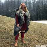 Leg Wraps - Viking Leg Wraps, Red - Grimfrost.com