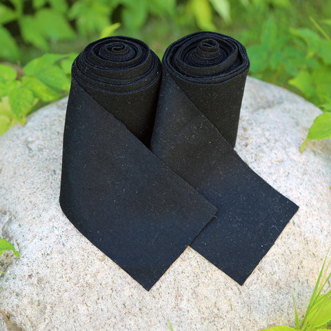 Viking Leg Wraps, Black