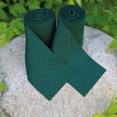 Viking Leg Wraps, Green