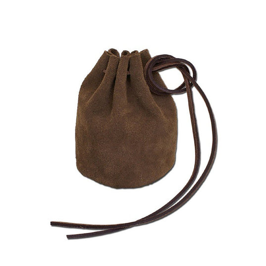 Bags & Pouches - Viking Belt Pouch, Brown - Grimfrost.com