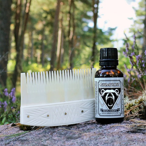 Sets & Bundles - Beard Care Set, Bone - Grimfrost.com