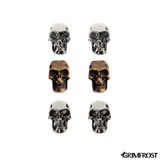 Beard Rings - Beard Bead Set, Skull Beads - Grimfrost.com