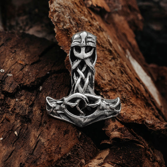 Thor's Hammers - Thor's Hammer, Silver - Grimfrost.com