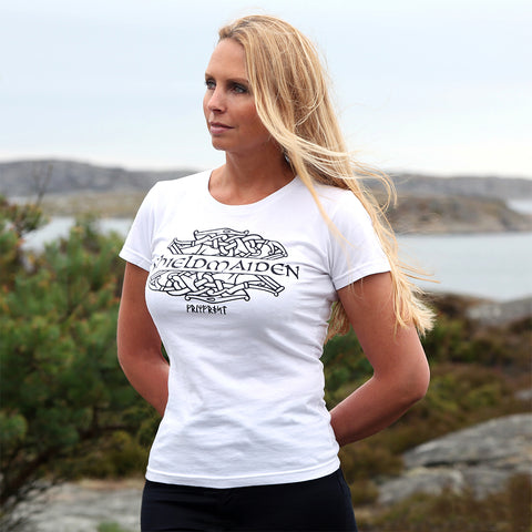 Women's Shirt, Shieldmaiden, White