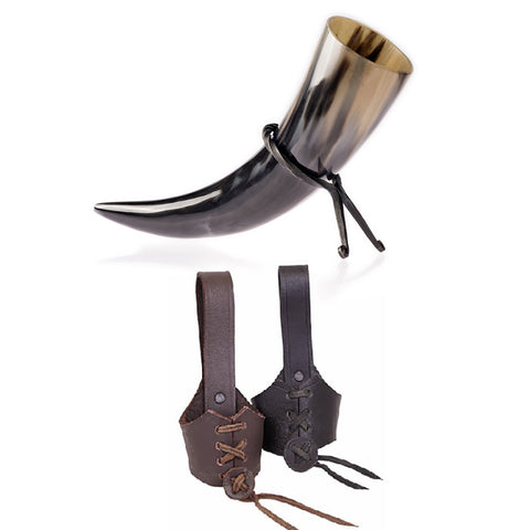 Drinkinng Horn Sets and Bundles - Drinking Horn Set - Grimfrost.com