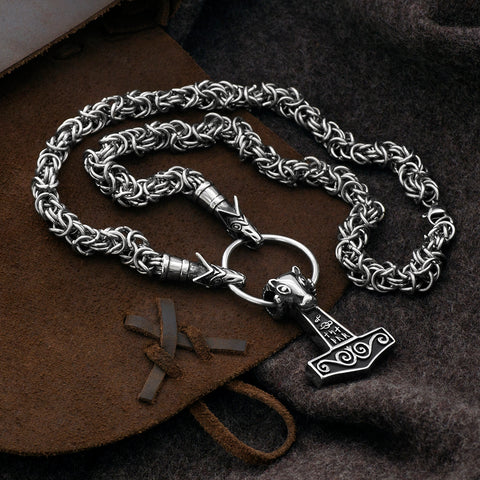 Sets & Bundles - Wolf King Chain, Set 3, Stainless Steel - Grimfrost.com