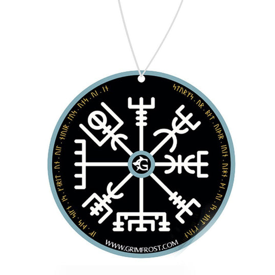 Car Accessories - Car Air Freshener, Vegvisir - Grimfrost.com