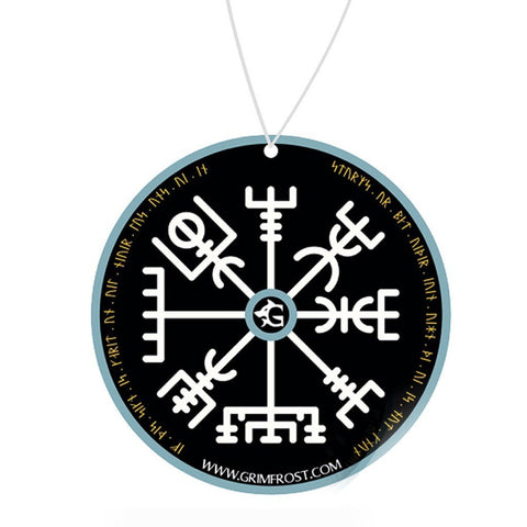 Modern Items - Car Air Freshener, Vegvisir - Grimfrost.com