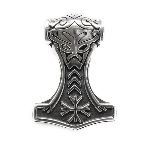 Thor's Hammers - Thor's Hammer of Awe, Stainless Steel - Grimfrost.com