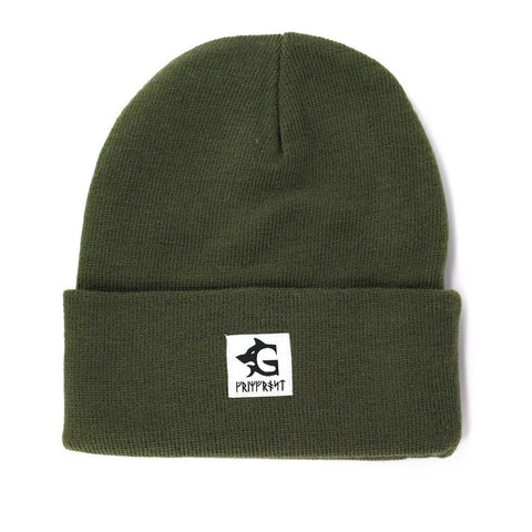 Beanies - Grimfrost Watch Hat, Army Green - Grimfrost.com