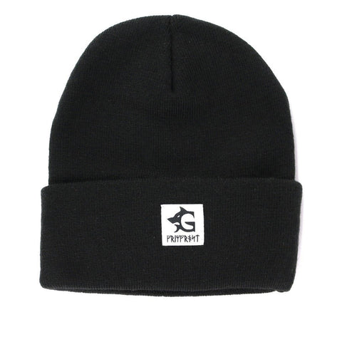 Beanies - Grimfrost Watch Hat, Black - Grimfrost.com