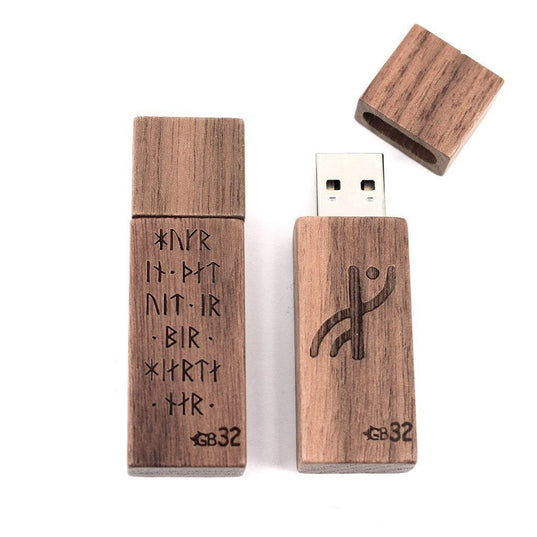 USB Flash Drive 32GB, Runes