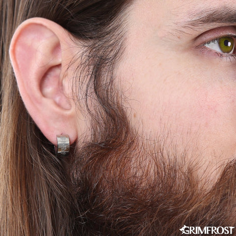 Earrings - Huggie Earring, Gibu Auja - Grimfrost.com