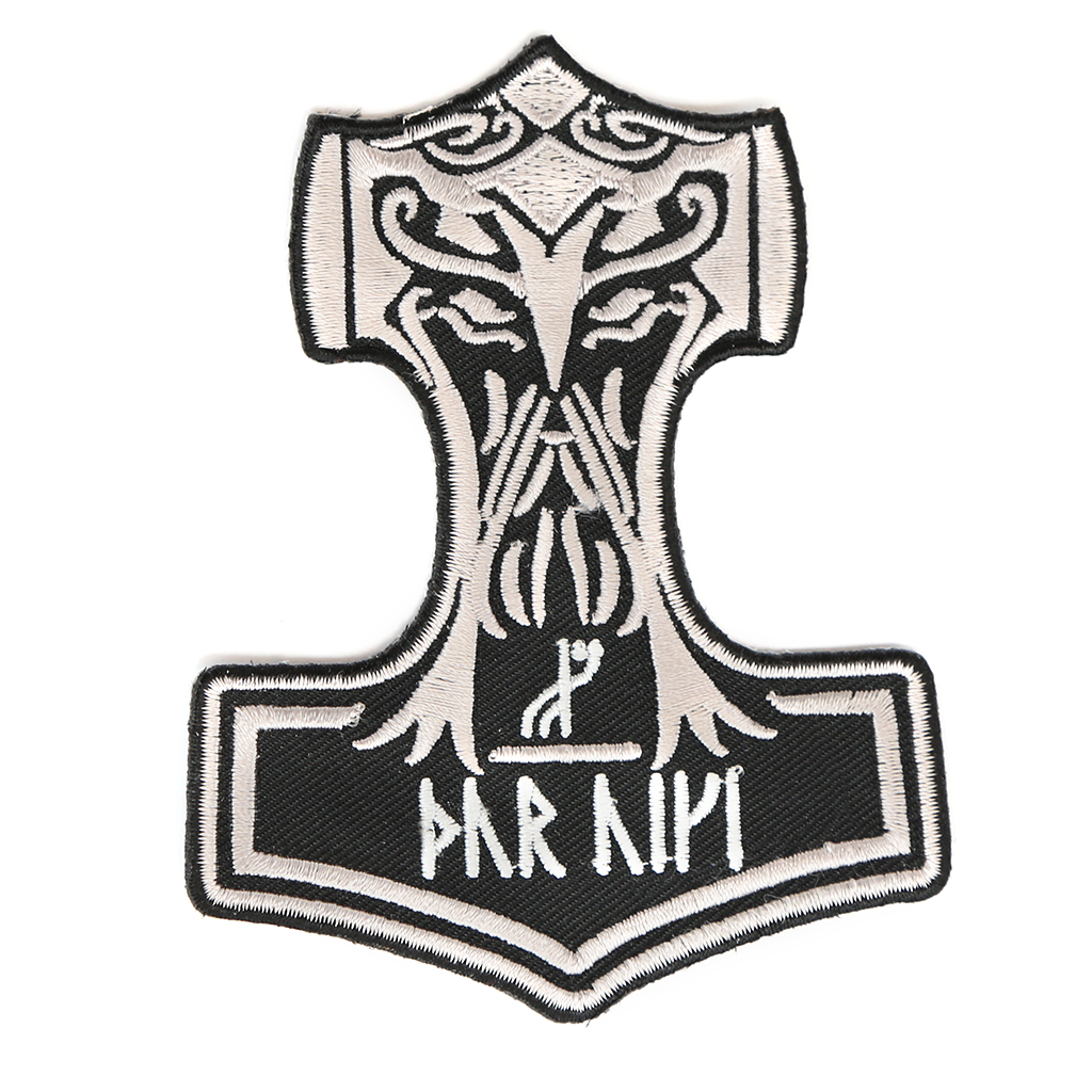 Mjolnir patch embroidered grimfrost mjolnir patch embroidered buycottarizona Choice Image