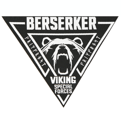 Modern Items - Berserker Patch, Woven - Grimfrost.com