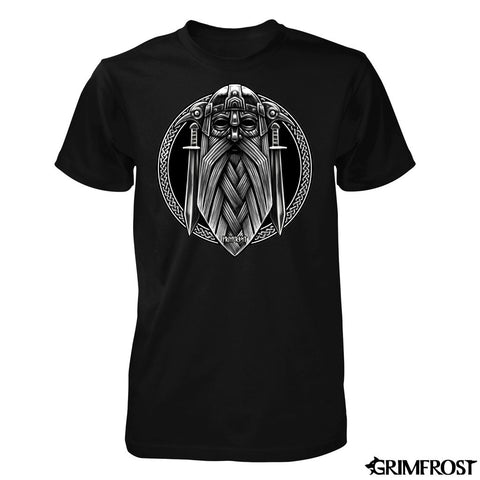 T-shirt, Odin, Black