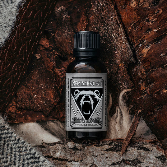 Beard Oil - Grimfrost Beard Oil, Natural - Grimfrost.com