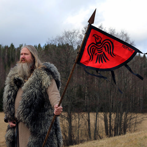 Flags - Raven Banner - Grimfrost.com
