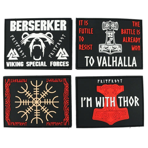 Modern Items - Morale Patch Set, PVC Velcro - Grimfrost.com