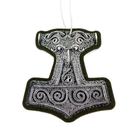 Car Accessories - Car Air Freshener, Mjolnir - Grimfrost.com