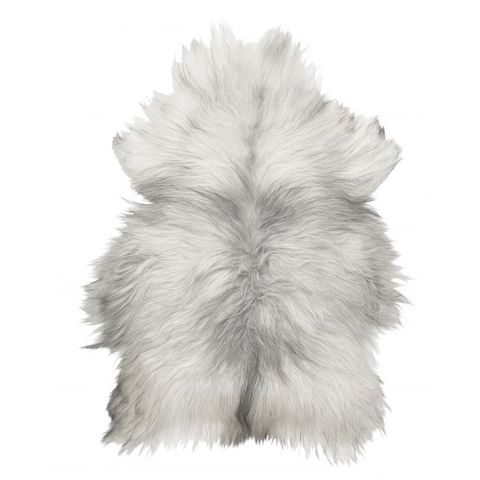 Skin & Leather - Icelandic Sheepskin, Natural Grey - Grimfrost.com