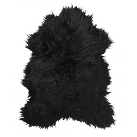 Skin & Leather - Icelandic Sheepskin, Natural Black - Grimfrost.com
