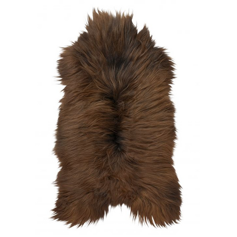 Skin & Leather - Icelandic Sheepskin, Natural Brown - Grimfrost.com