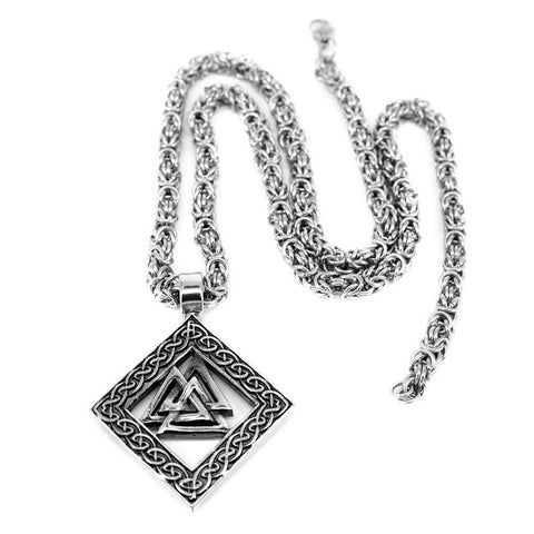 King Chain Valknut, Stainless Steel