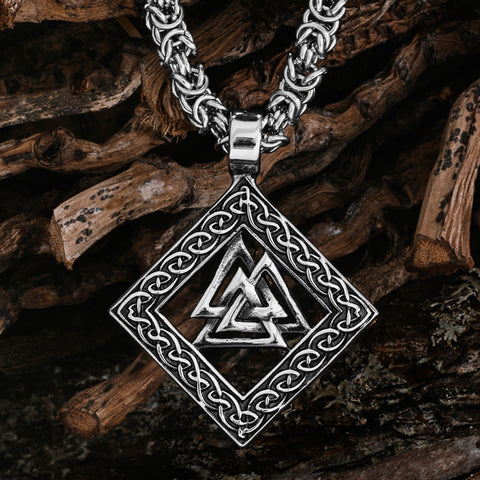 Sets & Bundles - King Chain Valknut, Stainless Steel - Grimfrost.com