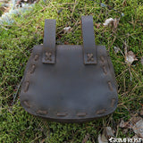 Viking Belt Bag, Oiled Leather