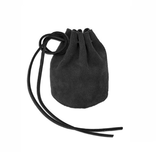 Bags & Pouches - Viking Belt Pouch, Black - Grimfrost.com