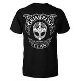 T-shirt, Grimfrost Clan Mask, Black