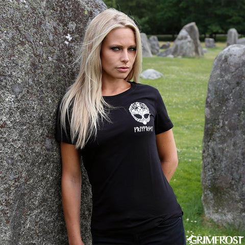 T-shirts - Women's Shirt, Grimfrost Clan, Black - Grimfrost.com