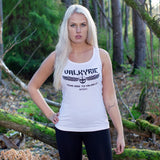 Tank Tops - Women's Tank Top, Valkyrie, White - Grimfrost.com