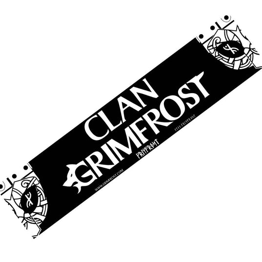 Modern Items - Rear Window Decal, Clan Grimfrost - Grimfrost.com