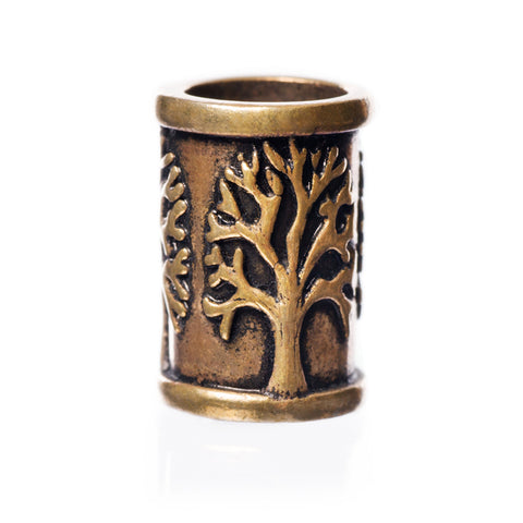 Yggdrasil Beard Ring, Bronze