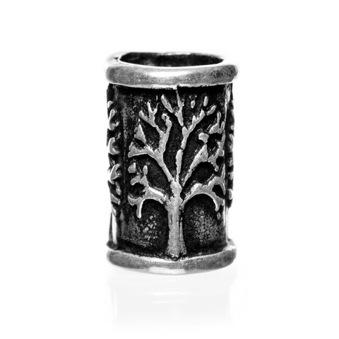 Yggdrasil Beard Ring, Silver