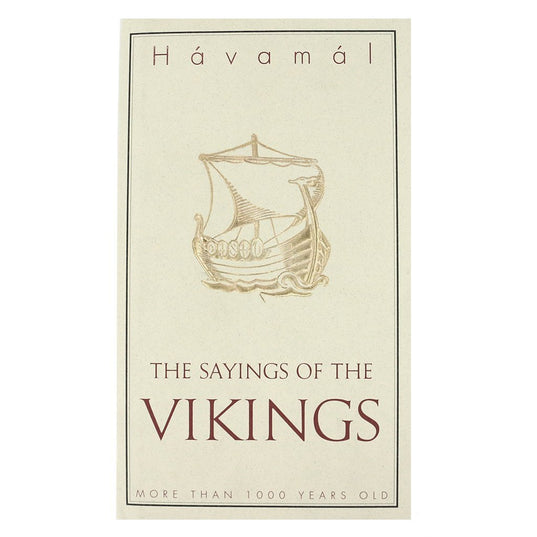 Lore - Havamal: The Sayings of the Vikings - Grimfrost.com
