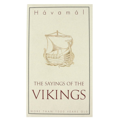 Havamal: The Sayings of the Vikings