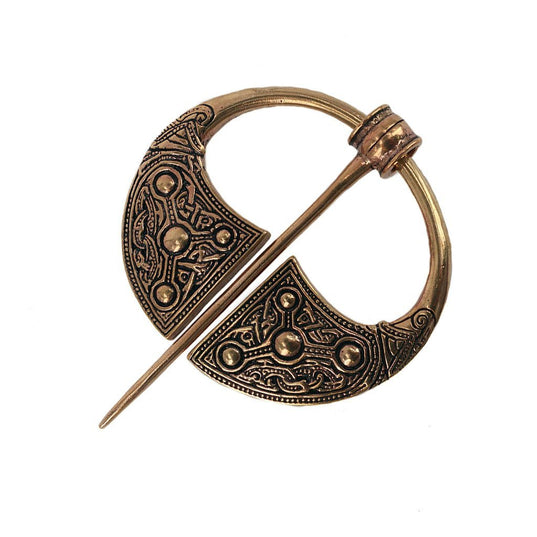 Viking Age Pins and Brooches - Bronze Fibula, Kilkenny - Grimfrost.com