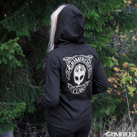 Women's Zoodie, Grimfrost Clan, Black