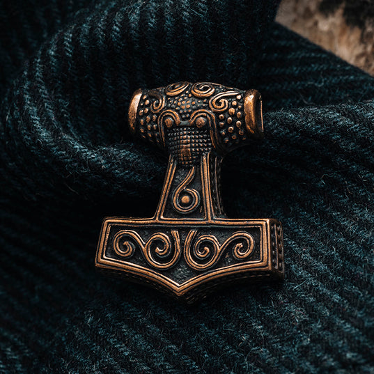Thor's Hammers - Skane Thor's Hammer, Bronze - Grimfrost.com