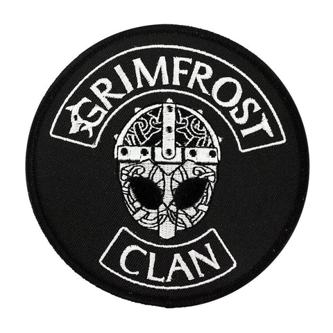 Modern Items - Grimfrost Clan Patch, Embroidered - Grimfrost.com