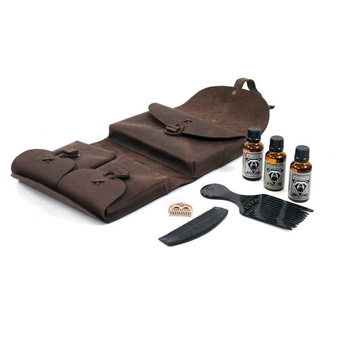 Sets & Bundles - Beard Care Starter Pack - Grimfrost.com