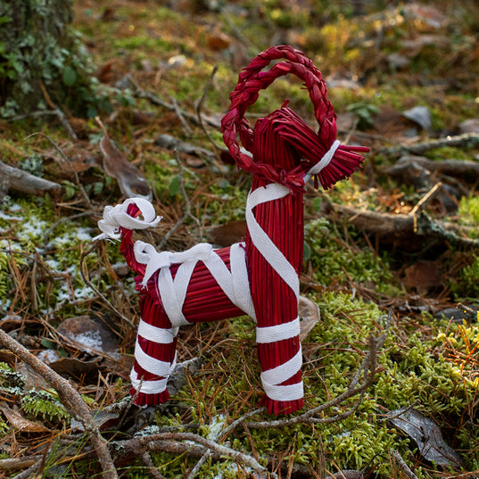 Yule Goats - Yule Goat, Medium, Red - Grimfrost.com